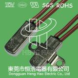 Termóstato bimetálico con el certificado de TUV/CQC/UL/RoHS
