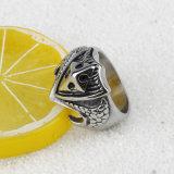 Anel de venda quente do anel novo da forma do anel do aço inoxidável do estilo