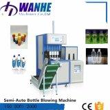 Máquina que sopla de la botella de agua Semi-Auto del animal doméstico