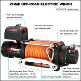 off-Road를 위한 12500lbs 강력한 합성 밧줄 전기 윈치