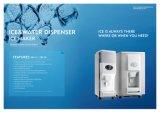 Fabricante de gelo comercial refrigerado a ar portátil de Delux com distribuidor do gelo