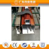 Profil en aluminium d'interruption thermique pour la porte et le guichet