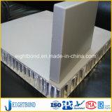 Panneau en aluminium de nid d'abeilles de PVDF pour le revêtement de Buliding