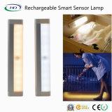 Indicatore luminoso ricaricabile del sensore del LED per la stanza da bagno della cucina dell'armadio