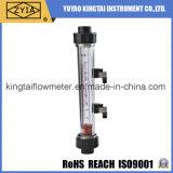 Ss que ajustan el rotámetro líquido vertical