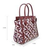 Handtas van de Ontwerper van het Leer van de Zak Pu van de Totalisator van de Vrouwen van de Handtassen van de schooltas de Nieuwe