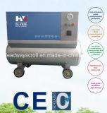 Compressore d'aria senza olio del rotolo di estrazione mineraria portatile azionata a cinghia