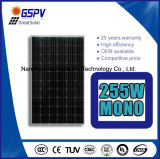 модули 255W 30V Monocrystalline солнечные PV с ценой высокого качества дешевым
