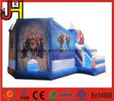 熱い販売の屋外の子供の膨脹可能な警備員、膨脹可能な城の家