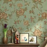 PVC moderno Wallcovering, papel de empapelar del PVC, tela de la pared del PVC, papel pintado del estilo del PVC