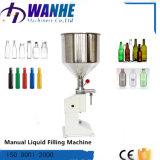 Máquina de rellenar líquida semiautomática para la botella de la bebida