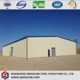 Costruzione mobile del magazzino della struttura d'acciaio