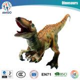 元の本物のプラスチック恐竜は収集できるモデルのための綿のおもちゃで満ちた