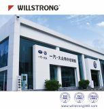 Material compuesto de aluminio del panel decorativo de Shopfont de la señalización de la gasolinera de Willstrong
