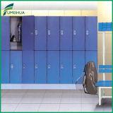 2 blaue /Woodgrain-Farben-athletische phenoplastische Schließfächer der Reihe imprägniern