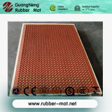 Stuoia di gomma del pavimento di drenaggio resistente di sicurezza di slittamento per le cucine
