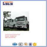 ザンビアの市場のためのSinotrukのダンプトラックHOWOのダンプカートラックRhd
