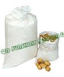 白いPP Woven Bags/PP Woven Sack Packing Potato/PP Packaging BagsかWoven Sack
