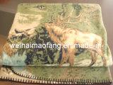 coperta polare del panno morbido del poliestere 150d/96f