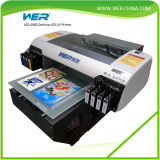 2015 neue heiße Verkaufs A2-Desktop mit Epson Dx5 Leiter UV-Drucker für Holz