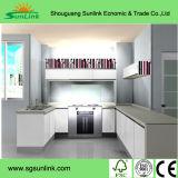Porte de Module de cuisine de forces de défense principale de film de PVC de pièce de meubles de cuisine (yg-015)