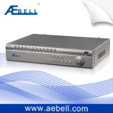 Réseau H.264 DVR en temps réel de canaux de la série 8 de S-Cf avec les entrées audio (BL-DVR408S-CF)