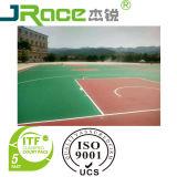 Blaue im Freiensilikon PU-Gerichts-Sport-Oberfläche für Basketball/Tennis/Vollyball/Badminton