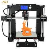 De hoogste 3D Printer van de Desktop DIY van 5 Verkoper met de Goedkope Kaart van de Prijs, LCD van het Scherm, van USB & van BR