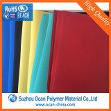 Feuille rigide colorée opaque de PVC de Matt de prix usine pour la papeterie