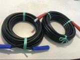 Tuyau de laveuse à haute pression Braid à fil en acier coloré
