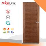 Entrada e porta de madeira clássica 100% sólida, porta de madeira, porta interior / porta exterior