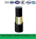 Braided шланг трубы шланга масла SAE100r1 гидровлический резиновый