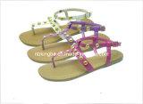 Chaussures de Silpper de fille (KB-258)