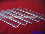Glace de quartz de silice d'arc d'espace libre de grande pureté