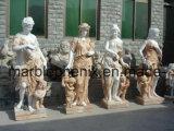 Marmorstatue-/-stein-Schnitzen/China-Marmor