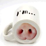 Tazza di caffè su ordinazione di ceramica della tazza di tè della novità con divertente
