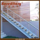 Balustrade modulaire extérieure de câble d'acier inoxydable pour le balcon (SJ-X1038)
