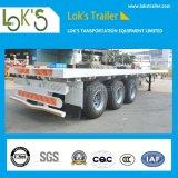 40 van 3axles van de Container Platfrom van de Lading van de Vrachtwagen voeten Aanhangwagen van /Tractor van de Semi