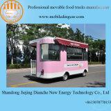Carro elétrico do gelado de quatro rodas com Quaiity elevado