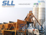 Máquina de tratamento por lotes concreta elétrica do misturador do caminhão da planta/cimento