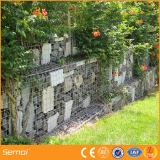 Heißes BAD galvanisierte Garten geschweißten Gabion Zaun