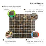Telhas de vidro quadradas do mosaico dos banheiros pretos materiais Eco-Friendly