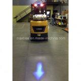 Blauer Pfeil-Träger-Gabelstapler-Warnleuchte für elektrischen Ladeplatten-LKW