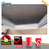 UPVC/PVCプロフィールの浴室のスライドガラスドア