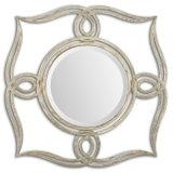 Зеркало рамки Handmade богато украшенный античного серебра Yolitehome законченный для домашнего украшения