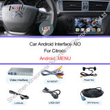 2014년 Citroen를 위한 인조 인간 Multimedia Navigation Video Interface C4, C5, C3-Xr Support DVR
