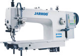 La velocidad Dirige-Drive Computer Large Hook Top y Bottom Feed Lockstitch Sewing Machine (JH-0320)