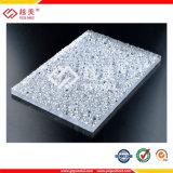 3mm 문과 커튼을%s 구부리는 다이아몬드에 의하여 돋을새김되는 폴리탄산염 장