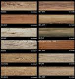 telha de assoalho de madeira 150*600 da grão do Inkjet 3D Rda16021
