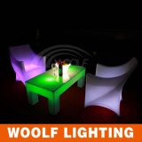 재충전용 LED 의자를 바꾸는 현대 색깔